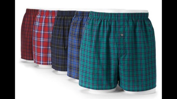 Men's Boxer Underwear SMALL 28'x30' Fruit Loom Select 5 Plaid Underwear -1pkg    eBay