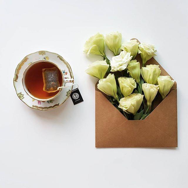 Good morning with Montréal, flavored blacktea from Thes Cristine Dattner :) Soft and smooth cup of tea with sweet and lovely maple syrup flavor • 크리스틴 다트너의 몬트리올이예요. 연하고 부드러운 차 위에 메이플 시럽의 달콤한 느낌과 베이커리를 떠오르게 하는 맛난 향기~ 달달하고 사랑스런 느낌에 입꼬리가 살짝 올라가네요. 오랜만의 가향차라 더 좋았나봐요. 날이 더우니 꽃들이 빨리 시들어서... 요렇게라도 담아보고...ㅎㅎ • #Montreal #ChristineDattner #flavored  #blacktea #tea #teatime #tealover #teaholic #teaaddict #teastagram #instatea #onmytable #cupoftea #flower #몬트리올 #크리스틴다트너 #가향 #홍차 #티타임 #온마이테이블 #티스타그램 #...