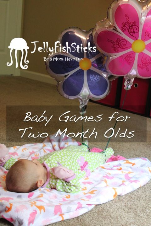 JellyFishSticks: Playtime with Baby - Activities for Two Month Old