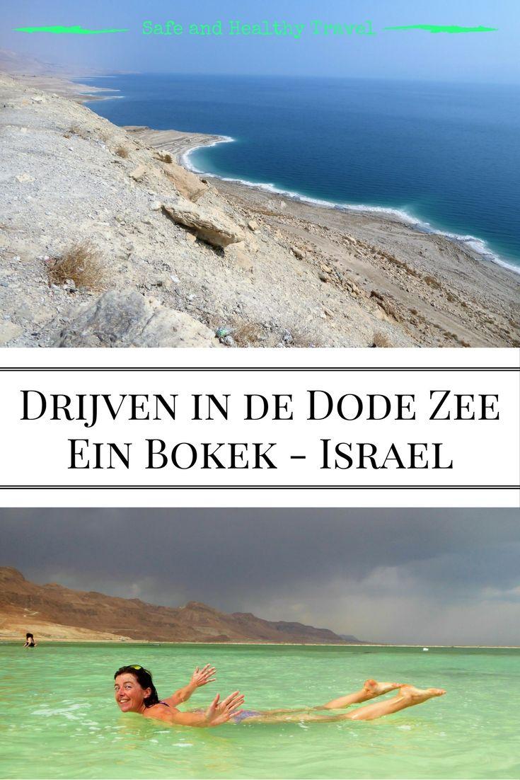 Drijven in de dode zee mag je niet missen bij een bezoek aan Israël. Het is een unieke ervaring die ook nog eens heerlijk voor je huid is!!
