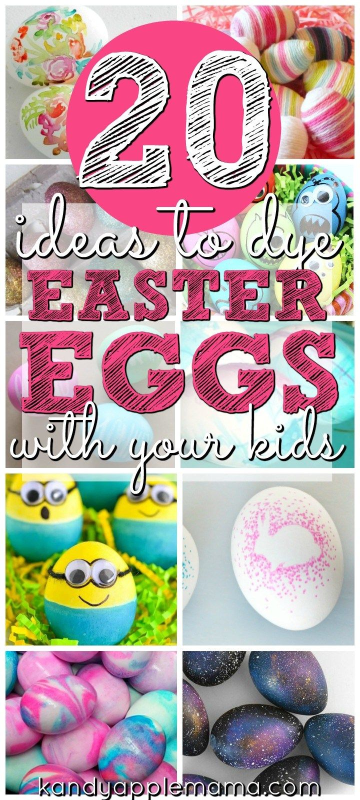 20 Ideas to Dye Easter Eggs with Your Kids - Kids Crafts!