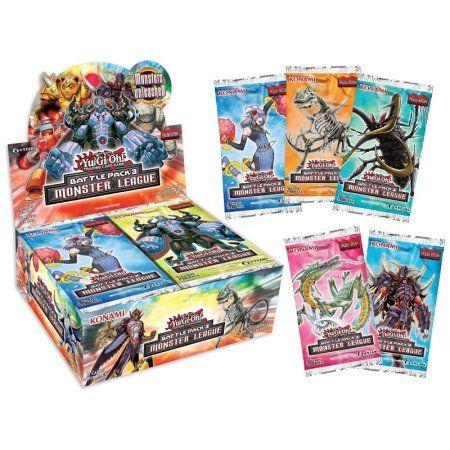 Konami Yugioh Battle Pack 3: Monster League 2pk