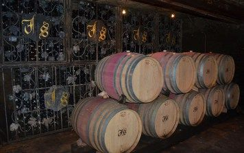 Barriques in Jean Stodden Winery, Ahr, Germany
