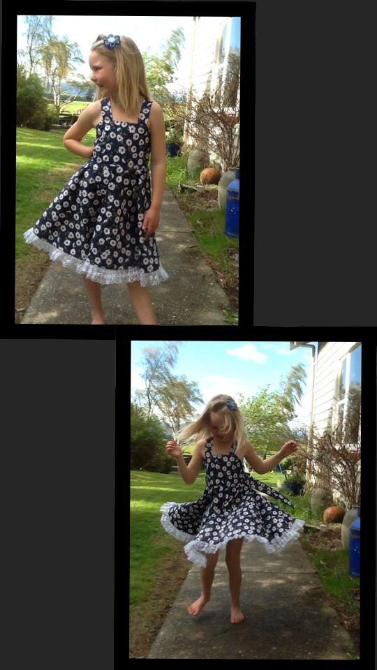 Twirly dress by Arlie Girl