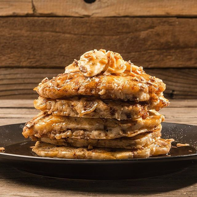 Banana Toffee Pancakes Recipe | Traeger Wood Fired Grills