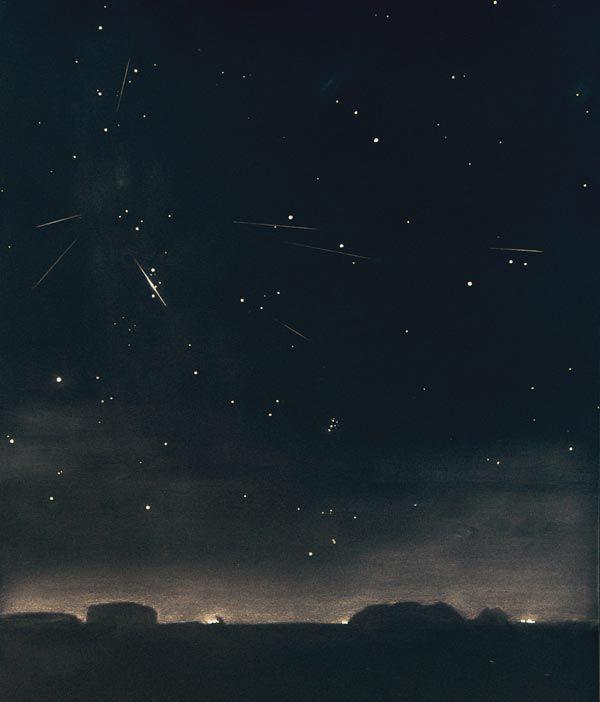 Zo mooi waren de vallende sterren in Nederland - Scientias.nl