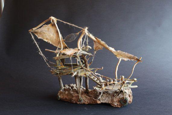 Maquette Diorama le fantastic par MandaKoadCreations sur Etsy