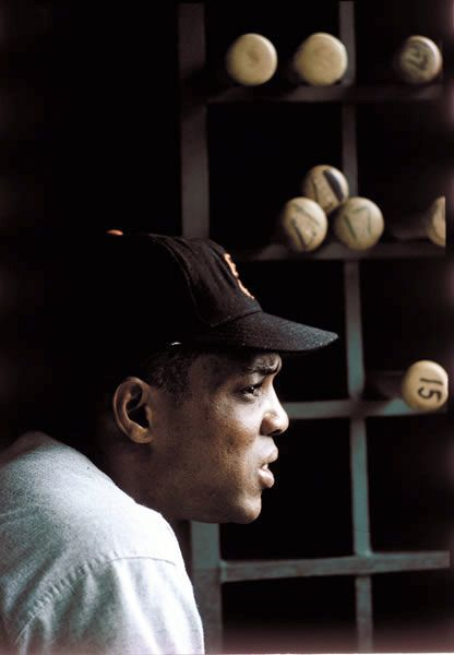 Willie Mays, 1968, photo taken by Walter Iooss Jr. Greatest baseball player I have ever seen in action!
