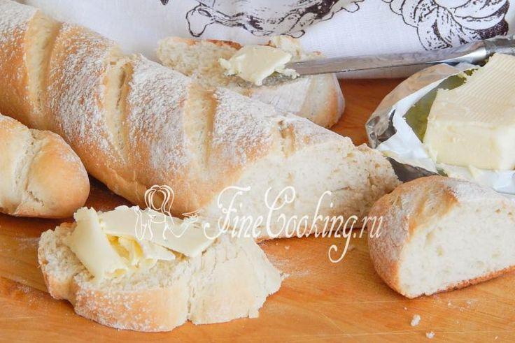 Домашние багеты - рецепт с фото