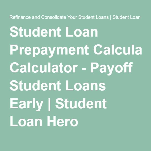Top  Best Student Loan Calculator Ideas On   Student