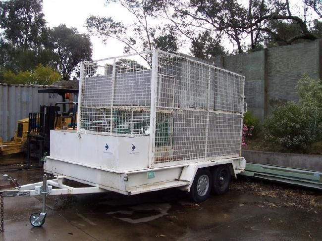 Used Trans Fix Trailers - Light Tow - 2 Ton Tandem , Ex Local Council , 1997 Model for sale - 1997