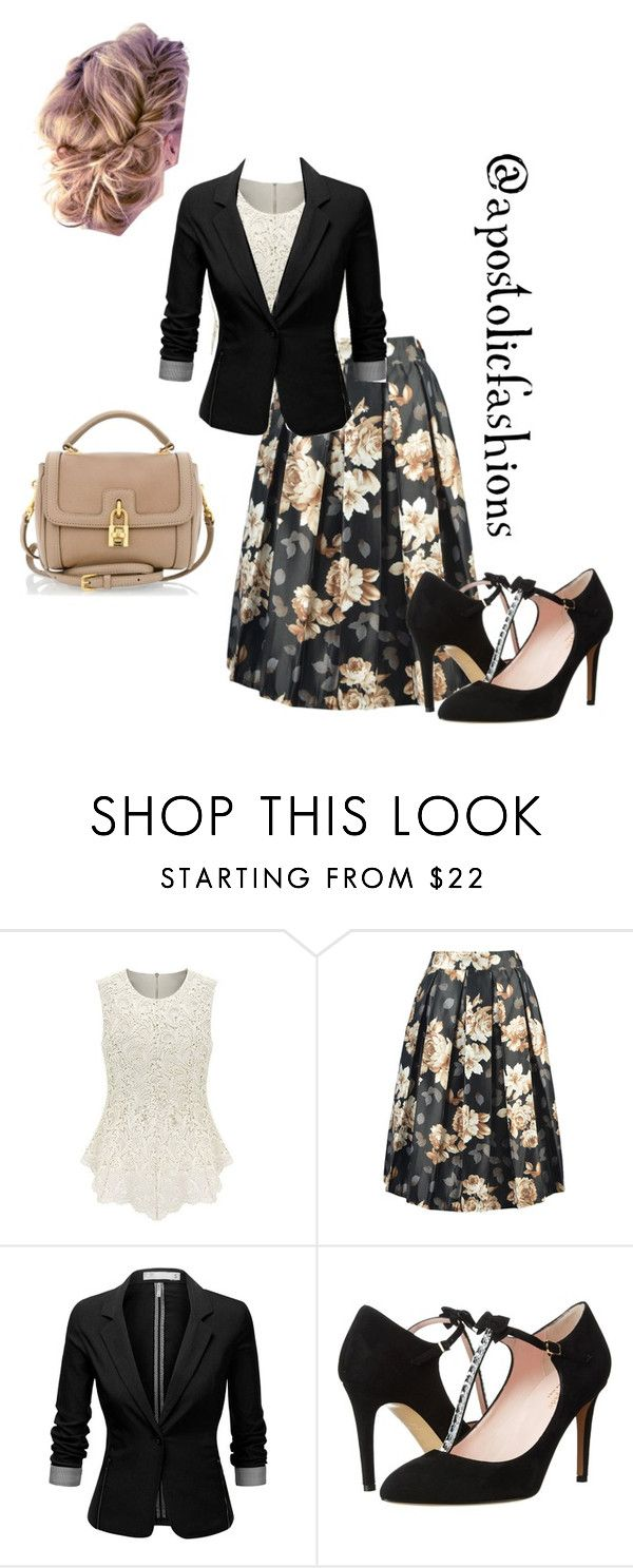 """Apostolic Fashions #1090"" by apostolicfashions on Polyvore featuring J.TOMSON, Kate Spade, Dolce&Gabbana, women's clothing, women, female, woman, misses and juniors"