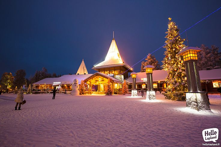 Santa Claus Village 10.12.2013 – everything ready for Xmas!