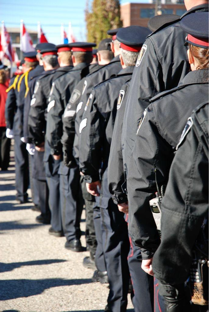Waterloo Regional Police Service officers