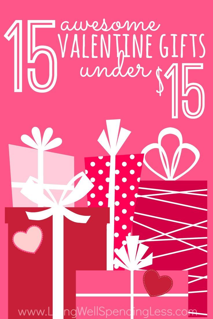 Want to treat your honey to something sweet this year?  Don't miss these 15 awesome Valentine's Day gift ideas for under $15!  Whether you are shopping for him, her, or the kids, there are some really original & clever ideas on this list!