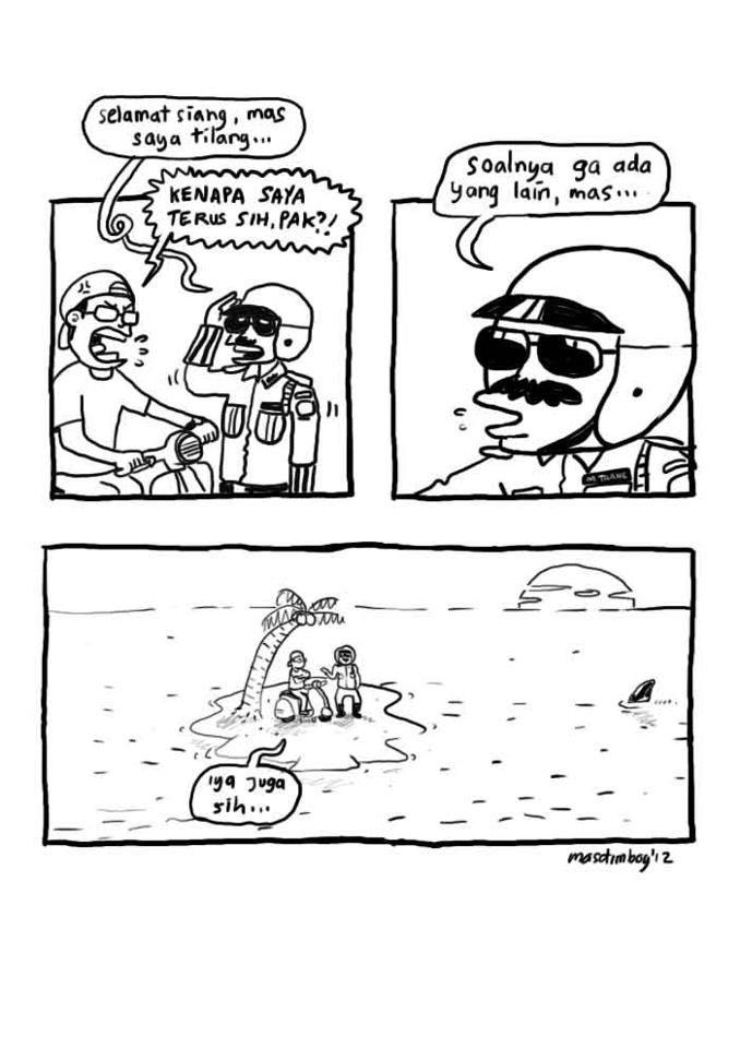 Komik Strip baru (ngakak) paret(2) - Kaskus - The Largest Indonesian Community