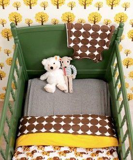 Bald ist Weihnachten! Tolle Retro-Kinderbettwäsche der norwegischen Designer von Blafre. http://www.daskleinezebra.com