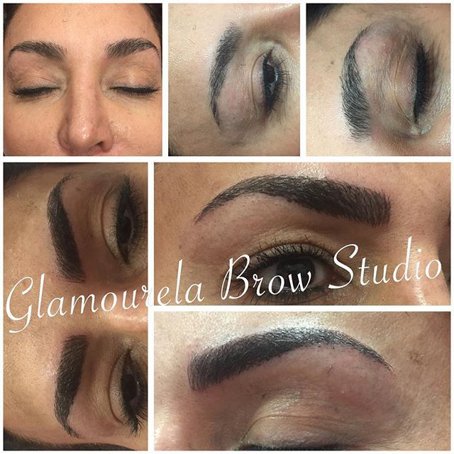 "Hairstroke Brows!!! This looks amazing @serena_licastro  This is a semi permanent tattoo done by hand. Not a machine. And each little hair is meticulously ""drawn"" on. Perfect brows are just an appointment away.  Serena is a total perfectionist and will make sure you leave here gorgeous, Glamourous, laughing and smiling 😁 #brows #eyebrowshaping #eyebrowtattoo #hairstrokeeyebrows #microblading #microbladingeyebrows #tattoo #browgoals #browsonpoint #browexpert #nyc #browpower #browporn…"