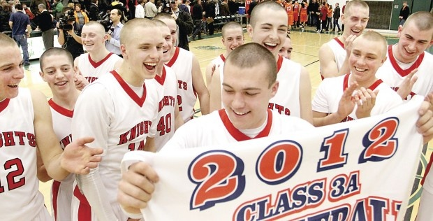 Davenport Assumption High School earns a trip to state with a win over Solon High School.