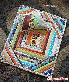 Кукольное одеяло - Лоскутное Шитьё - Страна Мам