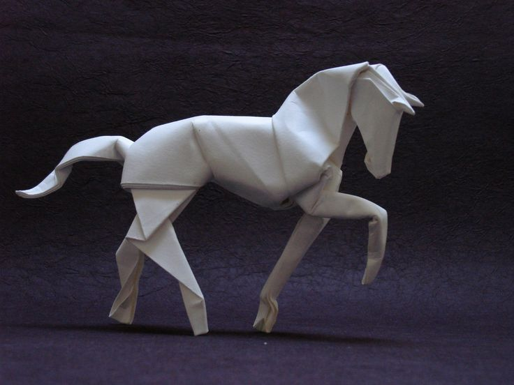 Origami Horse - PDF instructions - All material © Dave Brill 2014. These diagrams are for private use only. Please do not distribute without prior permission. Any commercial use must be agreed with me beforehand. Thank you for respe...