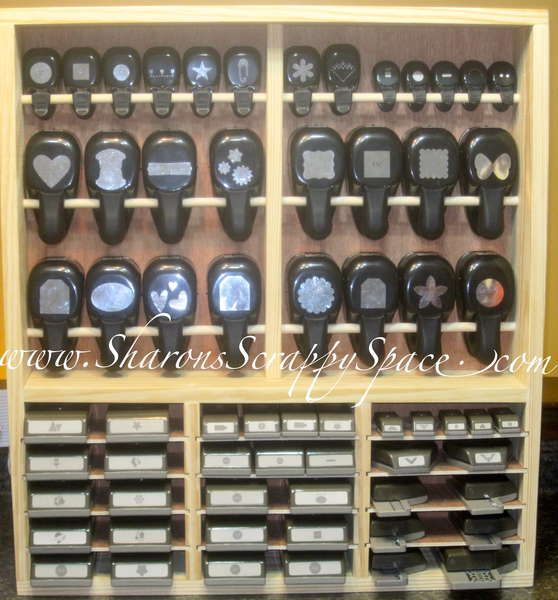 Would'n this be a DREAM to have??? Punch storage Unit. Do you do any carpentry? OR have a loved one that could help you out? This would be one of the TREASURES OF YOUR LIFE!!!