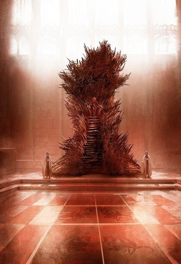 Game of Thrones: Le véritable trône de fer selon Marc Simonetti.