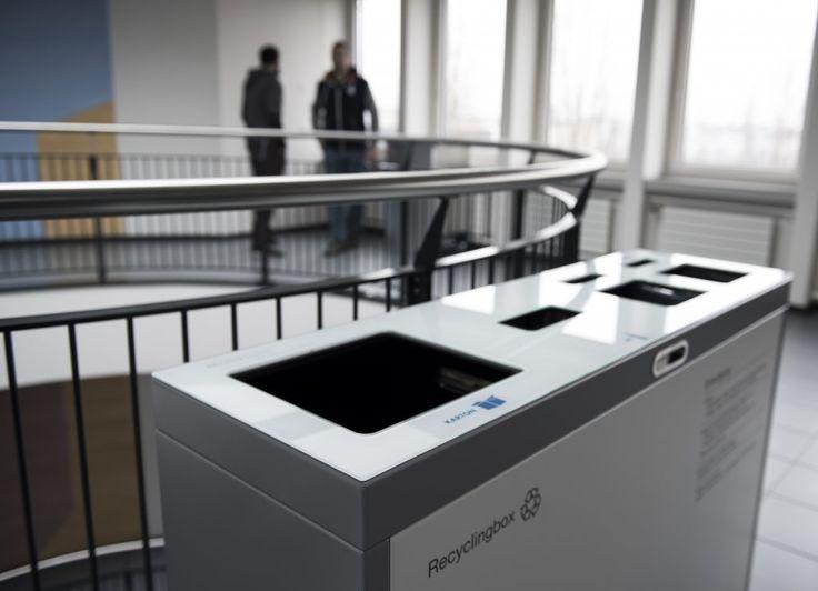 Recyclingstation, Recyclingstation Innen, Recyclingstation Büro