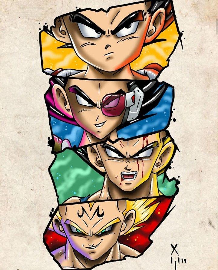 Vegeta, Dragon Ball Z
