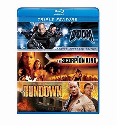 Dwayne 'The Rock' Johnson & Karl Urban & Peter Berg & Andrzej Bartkowiak -Dwayne Johnson Triple Feature: (The Scorpion King / The Rundown / Doom)