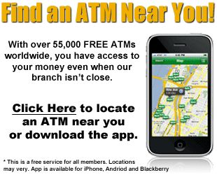 Does the CO-OP Financial ATM locator only list ATMs in Texas?