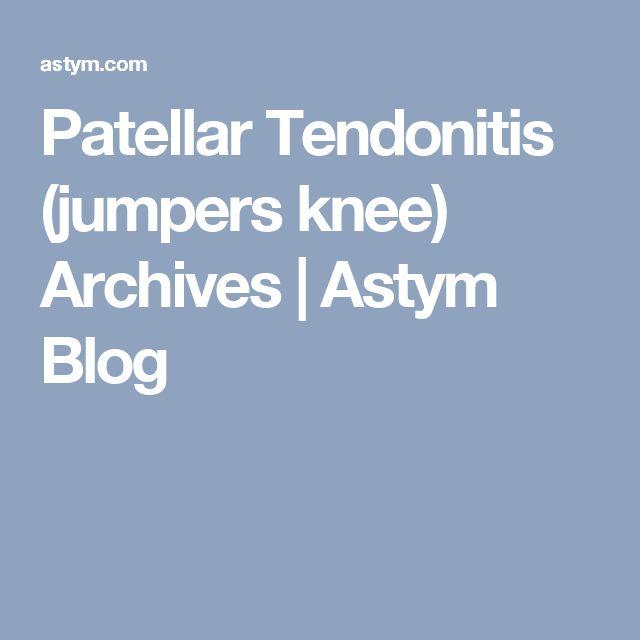 Patellar Tendonitis (jumpers knee) Archives | Astym Blog