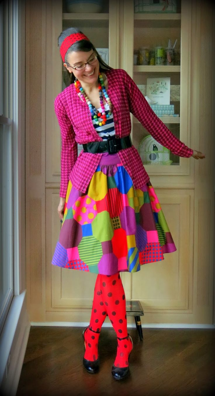 Wacky Tacky Day (in celebration of Read-Across-America Week) which, in my world, is simply known as Monday:  I actually had several pare...