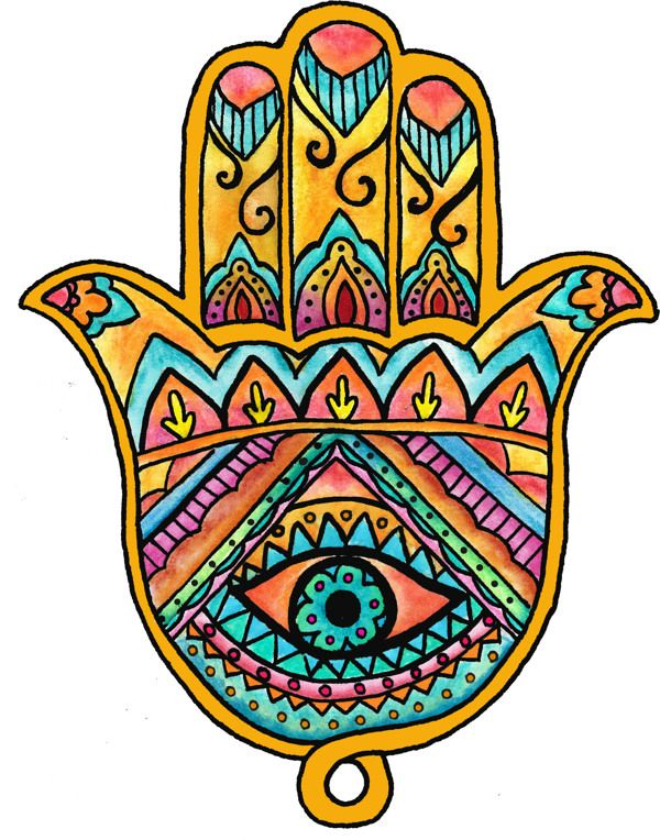 Hamsa Drawing | Hamsá on Behance