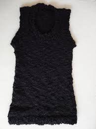 Resultado de imagen para chalecos de lana mujer negros