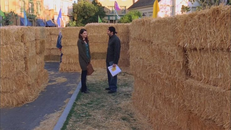 Because you need to see how metaphorical a hay bale maze can be.