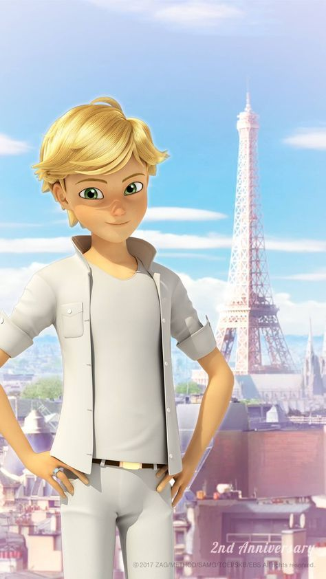This is going to be how Adrien will look in the Miraculous Summer Special (hopefully by then a reveal will happen pls)