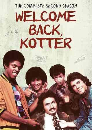 "The opening episode of WELCOME BACK KOTTER's second season finds Buchanan High School teacher Gabe Kotter (Gabe Kaplan) considering the idea of giving up his ""sweathog"" class to accept a job with a Ja"