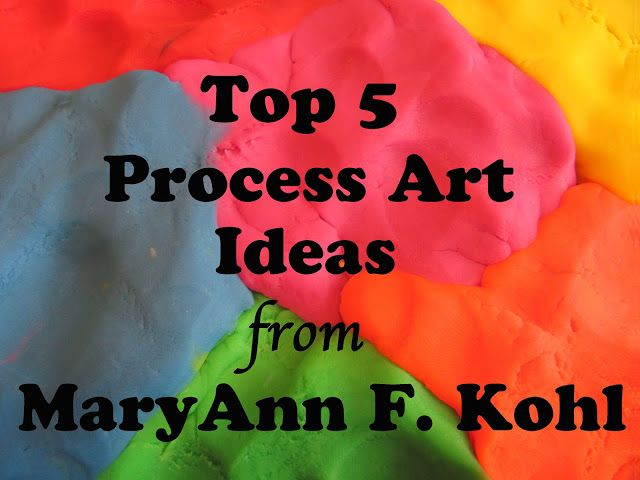 The Chocolate Muffin Tree: Top 5 Process Art Ideas from MaryAnn F. Kohl