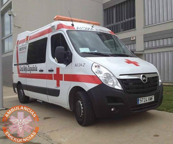 Nuestro compañero @Pablo Lasheras, de Cruz Roja Zaragoza, Aragón, nos envió esta foto de.... http://ambulanciasyemerg.blogspot.com.es/2014/12/unidad_31.html