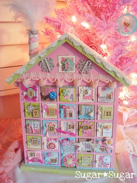 Awesome advent Calender! This would also be a great way to lead up to a birthday!
