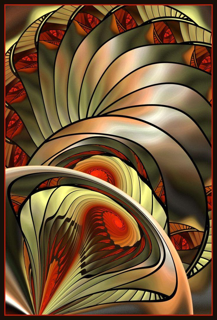 Fractal - Spiralen