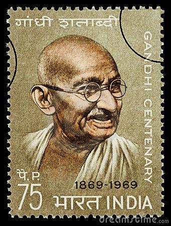 Mohandas Karamchand Gandhi Postage Stamp