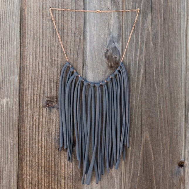 collar cadena y trapillo