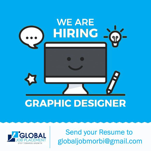 Urgently hiring candidate for the position of #Graphic Designer