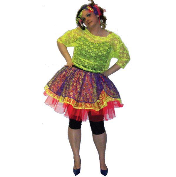 Plus Size 80s Fancy Dress Costumes Meningrey