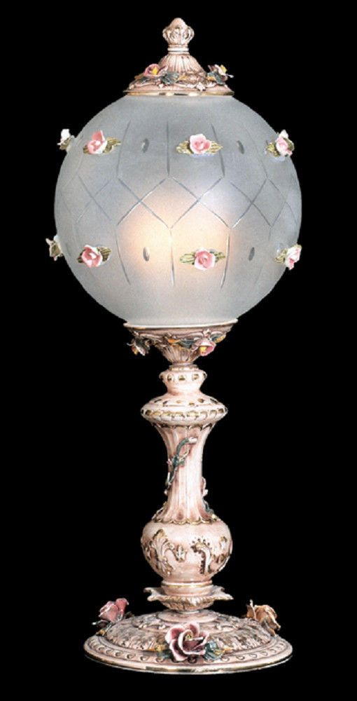 Details About Capodimonte Made In Italy 30 Inch Table Lamp