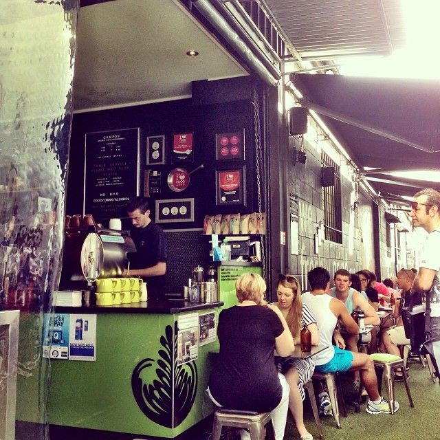 Campos Coffee in Fortitude Valley, QLD
