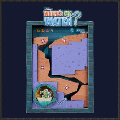 Disney: Where's My Water? Free Diorama Papercraft Download - http://www.papercraftsquare.com/disney-wheres-water-free-diorama-papercraft-download.html