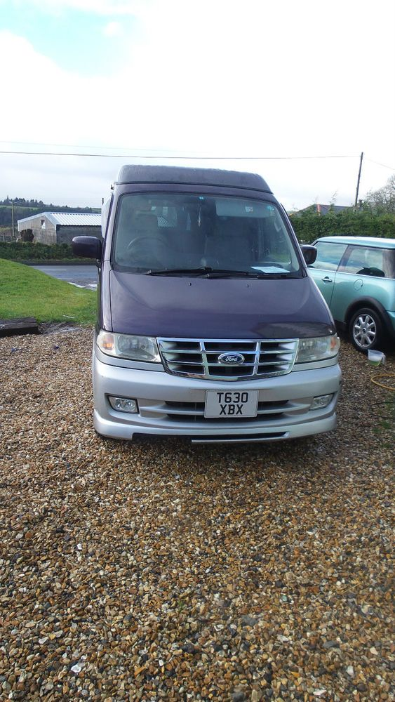 FORD FREDA 8 SEATER CAMPER DAY VAN GOOD CONDITION (MAZDA BONGO) Its still parked outside at the minute, but its for sale